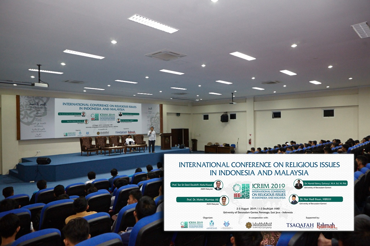 Intip Persiapan Acara International Conference On Religious Issues In Indonesia And Malaysia (ICRIIM)