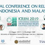 International Conference on Religious Issues in Indonesia and Malaysia (ICRIIM)
